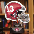 Alabama Crimson Tide NCAA College Neon Helmet Table Lamp