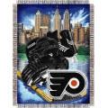 "Philadelphia Flyers NHL Style ""Home Ice Advantage"" 48"" x 60"" Tapestry Throw"