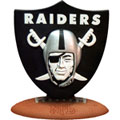 Oakland Raiders NFL Logo Figurine