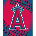 "Los Angeles Angels MLB ""Tie Dye"" 60"" x 80"" Super Plush Throw"