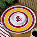 "Arizona State Sun Devils NCAA College 14"" Round Melamine Chip and Dip Bowl"