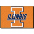 "Illinois Fighting Illini NCAA College 39"" x 59"" Acrylic Tufted Rug"
