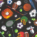 High Five Fabric by the Yard - Sports