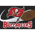 "Tampa Bay Buccaneers NFL 20"" x 30"" Tufted Rug"