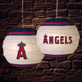 "Los Angeles Anaheim Angels MLB 18"" Rice Paper Lamp"
