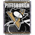 "Pittsburgh Penguins NHL 48"" x 60"" Triple Woven Jacquard Throw"