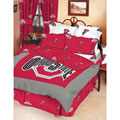 Ohio State Buckeyes 100 Cotton Sa Full Bed In A Bag