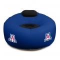 Arizona Wildcats NCAA College Vinyl Inflatable Chair w/ faux suede cushions