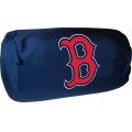 "Boston Red Sox MLB 14"" x 8"" Beaded Spandex Bolster Pillow"