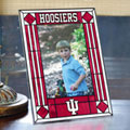 "Indiana Hoosiers NCAA College 9"" x 6.5"" Vertical Art-Glass Frame"
