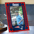 "New England Patriots NFL 9"" x 6.5"" Vertical Art-Glass Frame"
