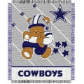 "Dallas Cowboys NFL Baby 36"" x 46"" Triple Woven Jacquard Throw"