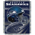 "Seattle Seahawks NFL ""Spiral"" 48"" x 60"" Triple Woven Jacquard Throw"