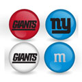 New York Giants Custom Printed NFL M&M's With Team Logo