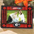 "Georgia UGA Bulldogs NCAA College 6.5"" x 9"" Horizontal Art-Glass Frame"