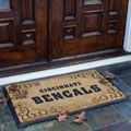 Cincinnati Bengals NFL Rectangular Outdoor Door Mat