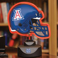 Arizona Wildcats NCAA College Neon Helmet Table Lamp