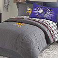 Minnesota Vikings NFL Team Denim Queen Comforter / Sheet Set