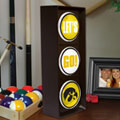 Iowa Hawkeyes NCAA College Stop Light Table Lamp
