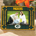"Green Bay Packers NFL 6.5"" x 9"" Horizontal Art-Glass Frame"