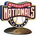 Washington Nationals MLB Logo Figurine