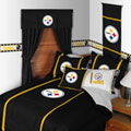 Pittsburgh Steelers MVP Shower Curtain