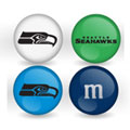 Seattle Seahawks Custom Printed NFL M&M's With Team Logo