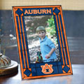 "Auburn Tigers NCAA College 9"" x 6.5"" Vertical Art-Glass Frame"