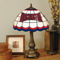 Washington Nationals MLB Stained Glass Tiffany Table Lamp