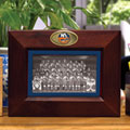 "New York Islanders NHL 8"" x 10"" Brown Horizontal Picture Frame"