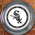 "Chicago White Sox MLB 15"" Neon Wall Clock"