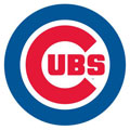 Chicago Cubs Resized Logo Fathead MLB Wall Graphic