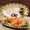 "Georgia Tech Yellowjackets NCAA College 12"" Ceramic Oval Platter"