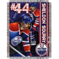 "Sheldon Souray NHL 48"" x 60"" Tapestry Throw"