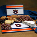 Auburn Tigers NCAA College Glass Cutting Board Set