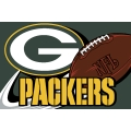 "Green Bay Packers NFL 20"" x 30"" Tufted Rug"
