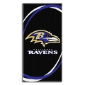 "Baltimore Ravens NFL 30"" x 60"" Terry Beach Towel"