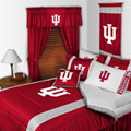 Indiana Hoosiers Side Lines Comforter / Sheet Set