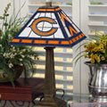 Chicago Bears NFL Stained Glass Mission Style Table Lamp