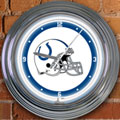 "Indianapolis Colts NFL 15"" Neon Wall Clock"