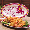 "Arizona State Sun Devils NCAA College 12"" Ceramic Oval Platter"