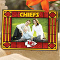 "Kansas City Chiefs NFL 6.5"" x 9"" Horizontal Art-Glass Frame"