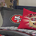 San Francisco 49ers NFL Team Denim Pillow Sham