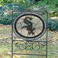 Chicago White Sox MLB Stained Glass Outdoor Yard Sign