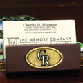 Colorado Rockies MLB Business Card Holder