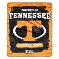 "Tennessee Volunteers College ""Property of"" 50"" x 60"" Micro Raschel Throw"