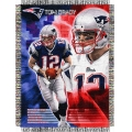 "Tom Brady NFL ""Players"" 48"" x 60"" Tapestry Throw"