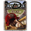 "Arizona Diamondbacks MLB ""Home Field Advantage"" 48"" x 60"" Tapestry Throw"
