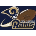 "St. Louis Rams NFL 20"" x 30"" Tufted Rug"