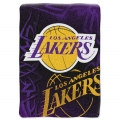"Los Angeles Lakers NBA ""Tie Dye"" 60"" x 80"" Super Plush Throw"